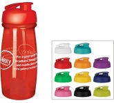 Splash 600ml Flip Top Shaker Ball Water Bottle