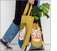Promotional tote bags create amazing brand recall!