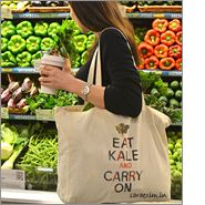Tote bags are universally appealing to all ages!
