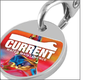 Huge benefits to using branded trolley coin keyrings