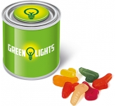 Small Sweet Paint Tin - Wine Gums