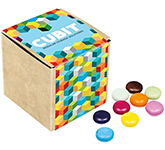Eco Kraft Cube - Chocolate Beanies