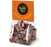 Eco Block Bag - Cocoa & Orange Snacks - Mini