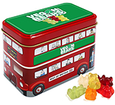 London Bus Sweet Tin - Kalfany Vegan Bears