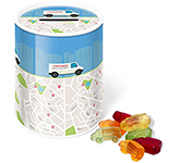 Money Box Sweet Tin - Kalfany Fruit Gums