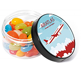 Screw Top Sweet Jars - Jelly Beans