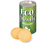 Eco Snack Tube - Mini Shortbread Biscuits - Small