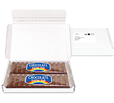 Midi Postal Box - 12 Baton Chocolate Bars