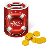 Money Box Sweet Tin - Chocolate Coins