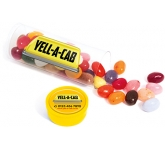 Midi Clear Sweet Tubes - Gourmet Jelly Beans