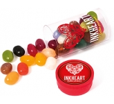Mini Clear Sweet Tubes - Gourmet Jelly Beans