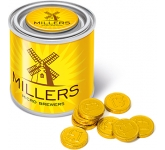 Small Sweet Paint Tin - Chocolate Coins