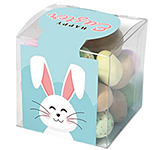 Clear Cube - Chocolate Speckled Eggs