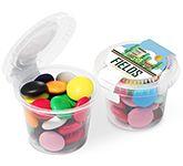 Eco Mini Pots - Chocolate Beanies