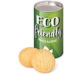 Eco Snack Tube - Mini Shortbread Biscuits