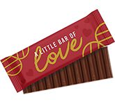 12 Baton Chocolate Bar - Valentines
