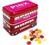 London Bus Sweet Tin - Gourmet Jelly Beans