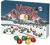 Solid Chocolate Balls - A5 Advent Calendar