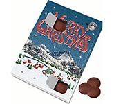 Large Advent Calendar - Milk Chocolate Discs