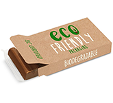 Eco Box - 6 Baton Chocolate Bar