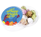 Maxi Round Sweet Pots - Speckled Chocolate Eggs