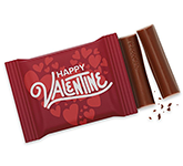 3 Baton Chocolate Bar - Valentines