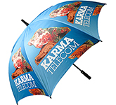 Fibrestorm Promotional Auto Golf Umbrella