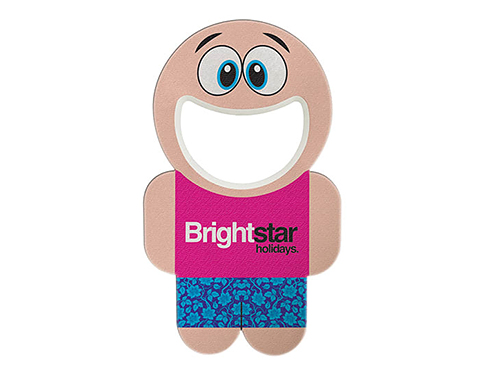 Buddy Person Shaped Bottle Opener
