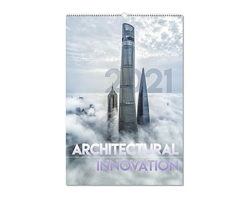 Architectural Innovation Wall Calendar