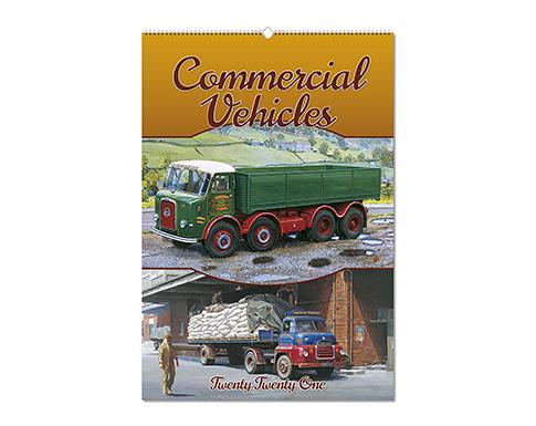 Commercial Vehicles Wall Calendar