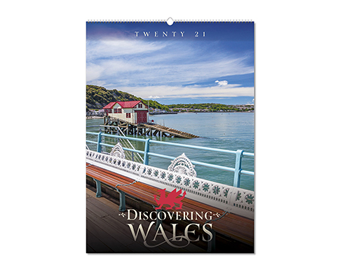 Discovering Wales Wall Calendar