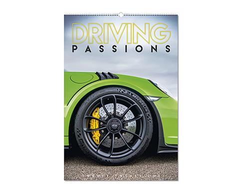 Driving Passions Wall Calendar