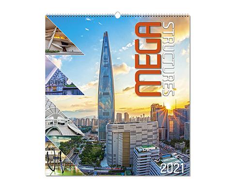 Mega Structures Wall Calendar