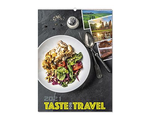 Taste For Travel Wall Calendar
