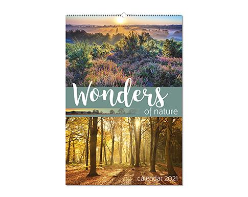 Wonders Of Nature Wall Calendar