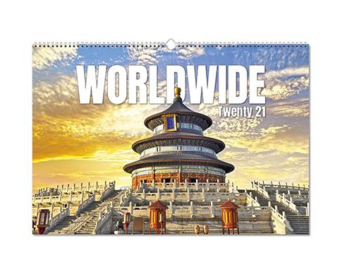 Worldwide Wall Calendar