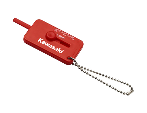 Tyre Tread Check Keyring