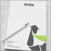 Attention grabbing A4 printed notepads!