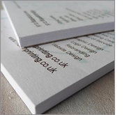 Attention grabbing A5 printed notepads!