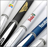 Extensive printing and branding options all our cheap metal pens<