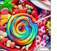 Add some colour add flavour to your next campaign with branded confectionery