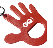 Get your bottle openers in the hands of your potential customers at conferences, trade shows, exhibitions and events
