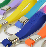 Get your keyrings in the hands of your potential customers.