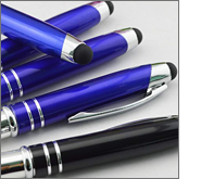 Perceived value is significantly higher when it comes to printed metal stylus pens