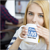 Get your mugs in the hands of your potential customers at home or in the office