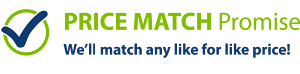 Price Match Promise - We'll match any like for like price!