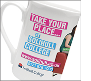 Show your future clients quality before you even meet them with branded china mugs