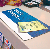 Promotional counter mats where practicality meets brand exposure!