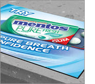 Using printed counter mats to boost brand awareness
