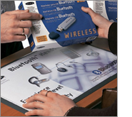 Printed counter mats are your golden ticket